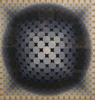 Circles 1973 Limited Edition Print - Victor Vasarely