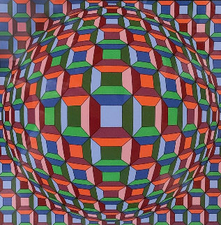 Untitled Print Limited Edition Print - Victor Vasarely