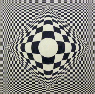 Vertigo 1982 Limited Edition Print - Victor Vasarely