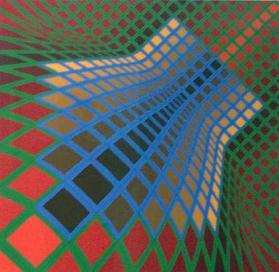 victor varsely Victor vasarely's toll plays with our perception in tantalizing and challenging ways our eyes seem pulled backward and forward in space, yet are kept in constant motion across the flat surface called one of the founders of op art, vasarely explored patterns in his work that test ways in which eye and brain act to perceive.
