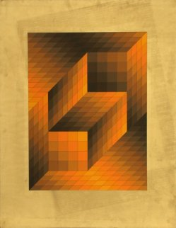 Untitled - III Limited Edition Print - Victor Vasarely