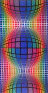 Sinfel 1978 Limited Edition Print - Victor Vasarely