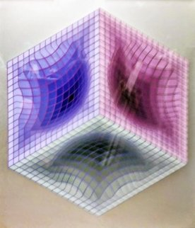 Tri-Dos 1987 Limited Edition Print - Victor Vasarely