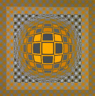 Zeng 1975 Limited Edition Print - Victor Vasarely