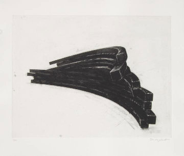 Effondrement: Arcs 2013 Limited Edition Print - Bernar Venet