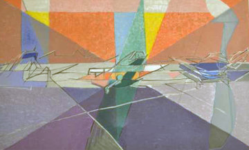 Orley 1962 Limited Edition Print - Jacques Villon