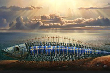 Crusaders 2007 Limited Edition Print - Vladimir Kush
