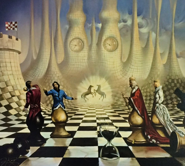 Chess 2000 By Vladimir Kush