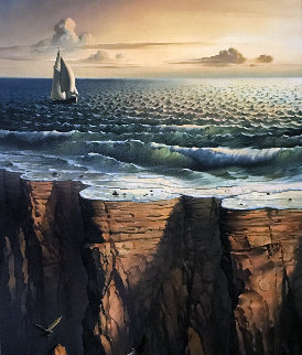 Edge of the Earth 2006 Limited Edition Print - Vladimir Kush
