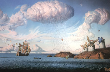 Metaphorical Journey 2001 Limited Edition Print - Vladimir Kush