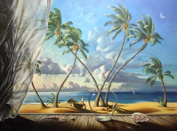Ocean Breeze Limited Edition Print - Vladimir Kush