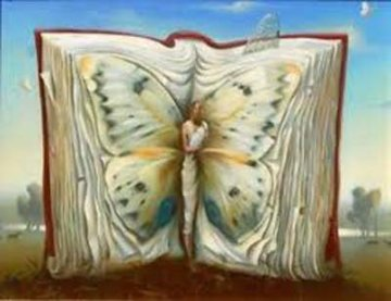 Book of Books Limited Edition Print - Vladimir Kush