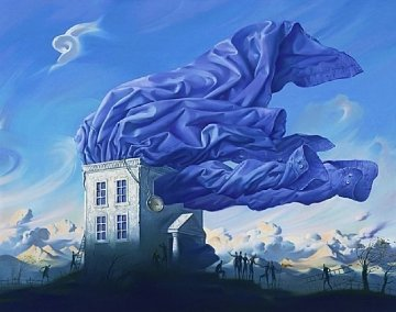 Wind 2000 Limited Edition Print - Vladimir Kush