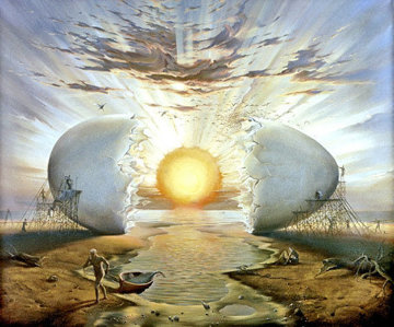 Sunrise By the Ocean Limited Edition Print - Vladimir Kush