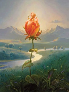 Morning Blossom Limited Edition Print - Vladimir Kush