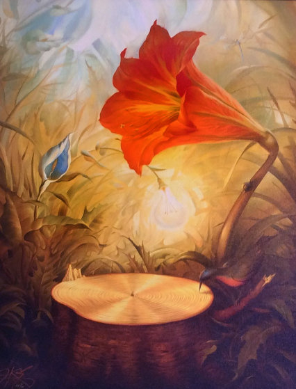 Music Of The Woods Pp By Vladimir Kush