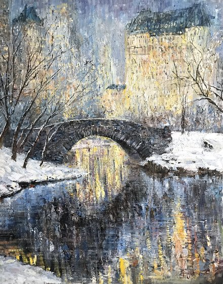 Christmas in Central Park 50x40