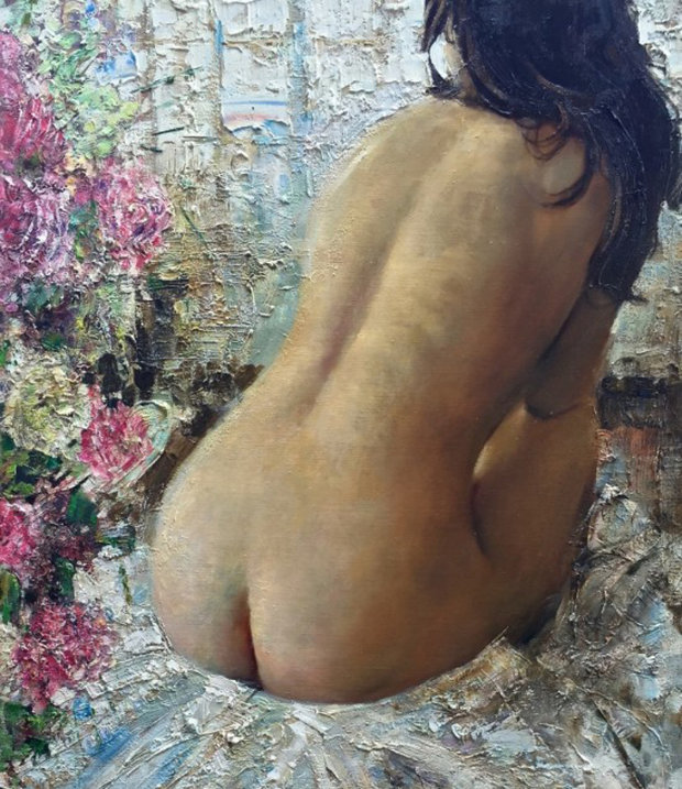 Morning 2013 60x33 Nude