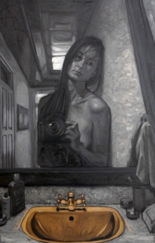 Self-Portrait in the Bathroom 2009 59x39
