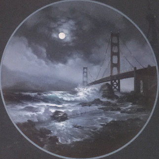 Guardian of the Gate San Francisco Limited Edition Print - Walfrido Garcia