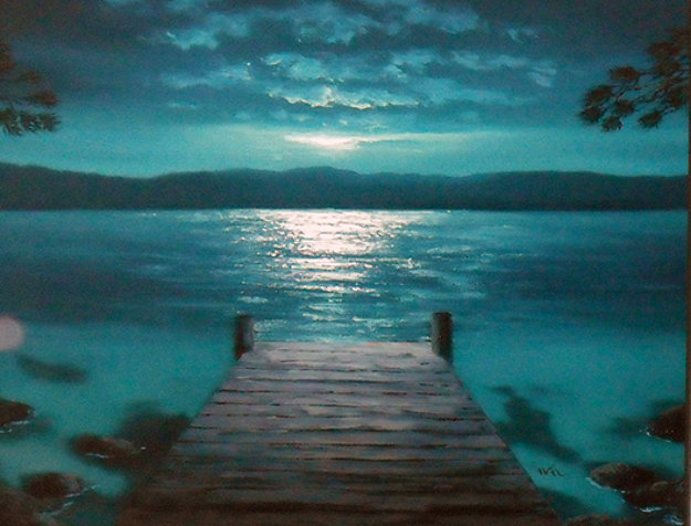 Dockside dreams ap 2005 by walfrido garcia for Best way to sell your art online