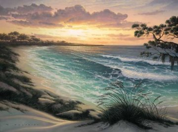 Emerald Bay AP Embellished Limited Edition Print - Walfrido Garcia