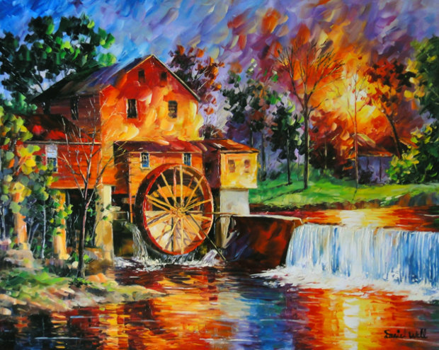 Old Mill House 2010 36x42