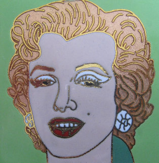 Green Marilyn Jewelry - Andy Warhol