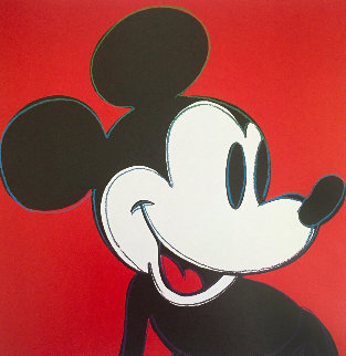 Myths: Mickey Mouse 1995 Limited Edition Print by Andy Warhol