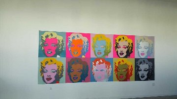 Sunday B. Morning, Marilyn Monroe Suite of 10 Framed Limited Edition Print - Andy Warhol