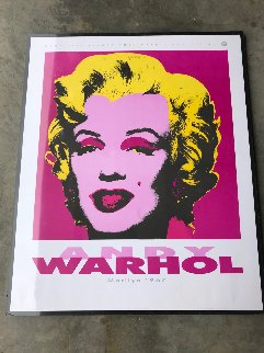 Marilyn: Nouvelles Images Andy Warhol Collection 1989 Limited Edition Print - Andy Warhol