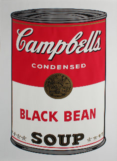 Campbell\'s Soup: Black Bean  FS II.44 Limited Edition Print - Andy Warhol