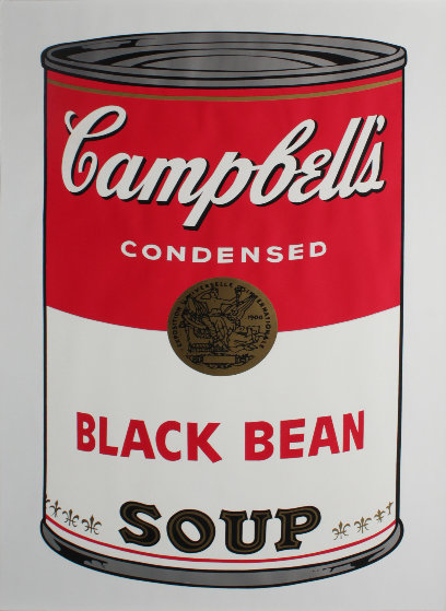 Black Bean, Campbell's Soup FS II.44