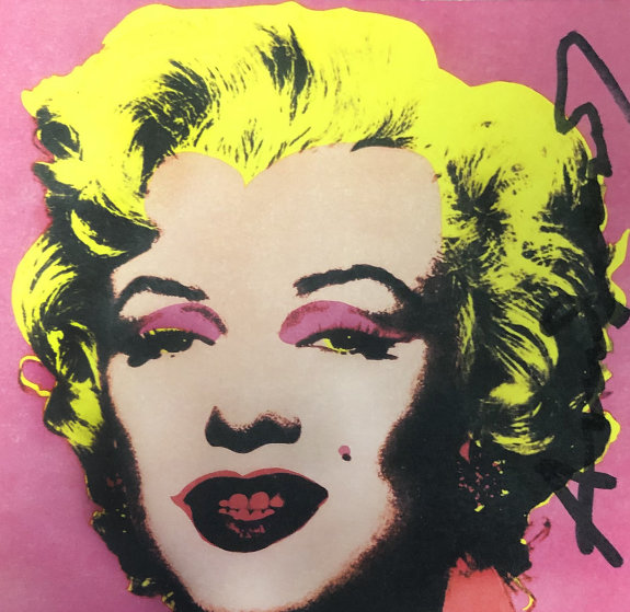 Marilyn Monroe - Castelli Graphics Invitation 1981