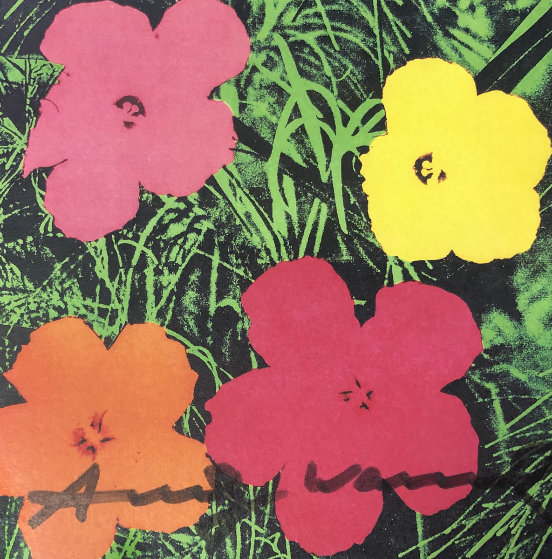 Flowers - Castelli Graphics Invitation 1981