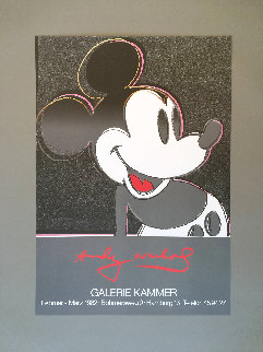 Mickey 1982 Limited Edition Print - Andy Warhol