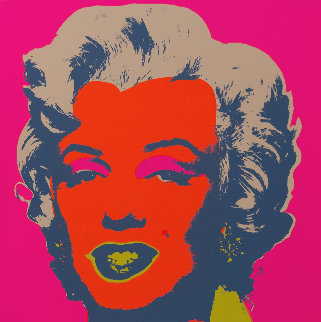 Sunday B Morning Marilyn Monroe Works on Paper (not prints) - Andy Warhol