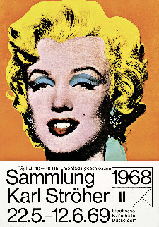Marilyn (Karl Ströher) 1968 Limited Edition Print - Andy Warhol