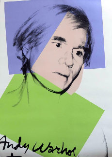 Self Portrait 1978  Limited Edition Print - Andy Warhol