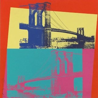 Brooklyn Bridge (FS II.290) 1983 Limited Edition Print - Andy Warhol