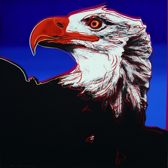Bald Eagle, from: Endangered Species (F. & S. II.296) 1983 by Andy Warhol