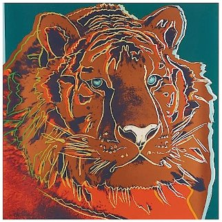 Siberian Tiger, from: Endangered Species (F. & S. II.297) 1983 Limited Edition Print - Andy Warhol