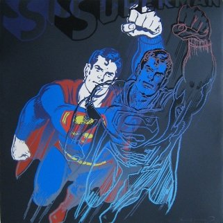 Superman, From Myths Limited Edition Print - Andy Warhol