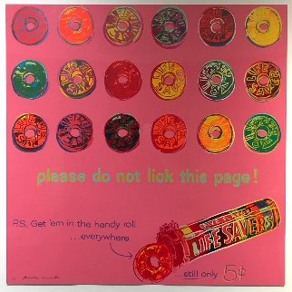 Life Savers Fs Ii.353, From Ads Limited Edition Print - Andy Warhol