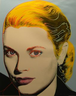 Grace Kelly 1984 Fs Ii.305 Limited Edition Print - Andy Warhol