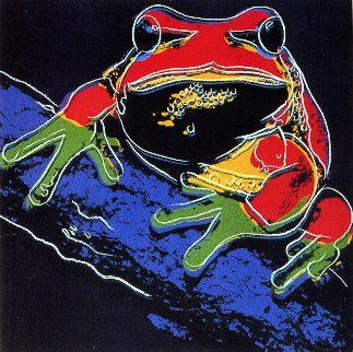 Pine Barrens Tree Frog Fs Ii.294 Limited Edition Print - Andy Warhol