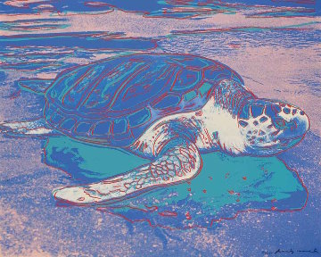 Turtle (FS II.360A) 1985 Limited Edition Print - Andy Warhol