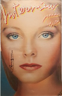 Interview Magazine (Jodie Foster Cover) HS 1980 Limited Edition Print - Andy Warhol