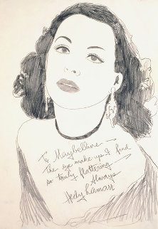 Hedy Lamarr 1970 Limited Edition Print - Andy Warhol