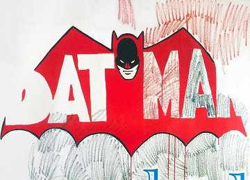 Batman Poster 1997 Limited Edition Print - Andy Warhol